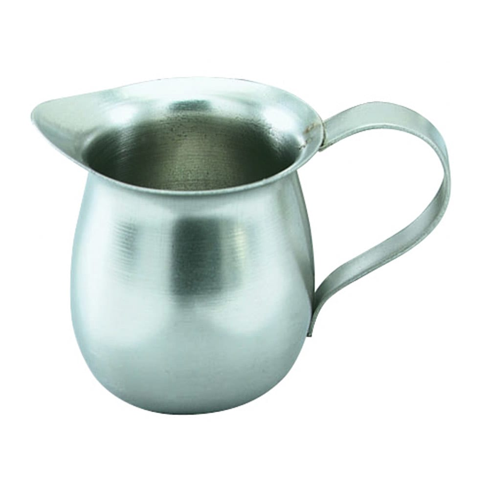 Vollrath 46005 5-oz Bell Creamer - Mirror-Finish Stainless