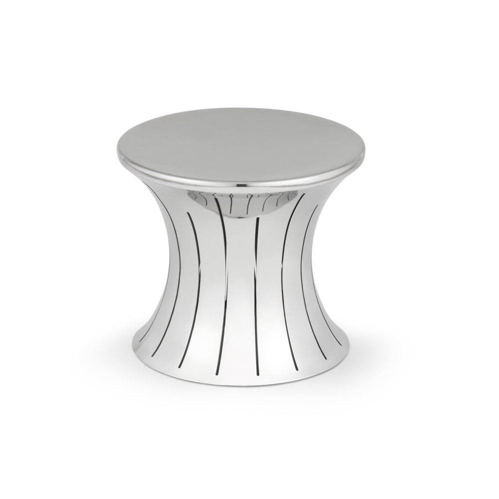 "Vollrath 46015 Small Buffet Riser - 5"" Hourglass Shape, Stainless"