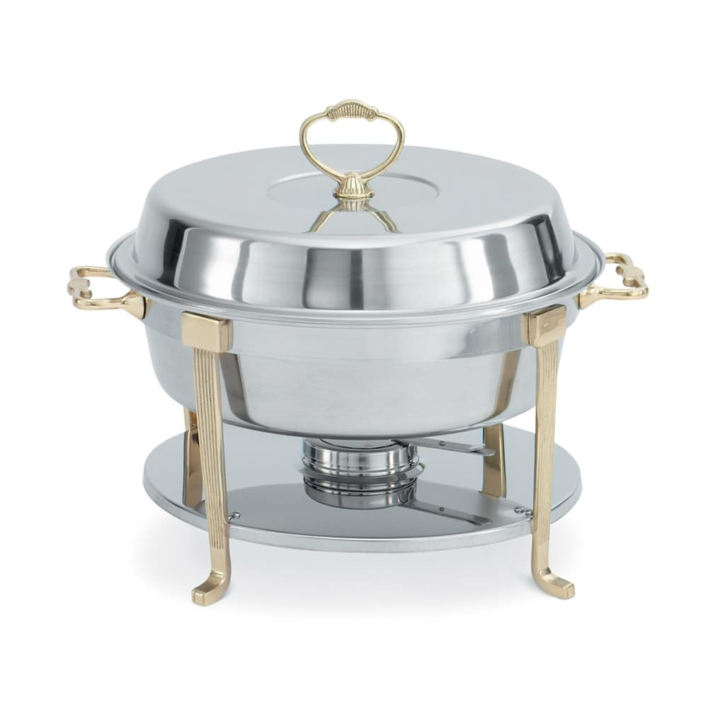 Vollrath 46030 Round Chafer w/ Lift-off Lid & Chafing Fuel Heat