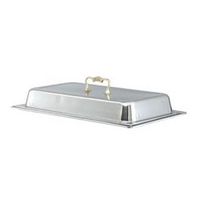 Vollrath 46043 Full-Size Chafer Dome Cover - Brass Handle