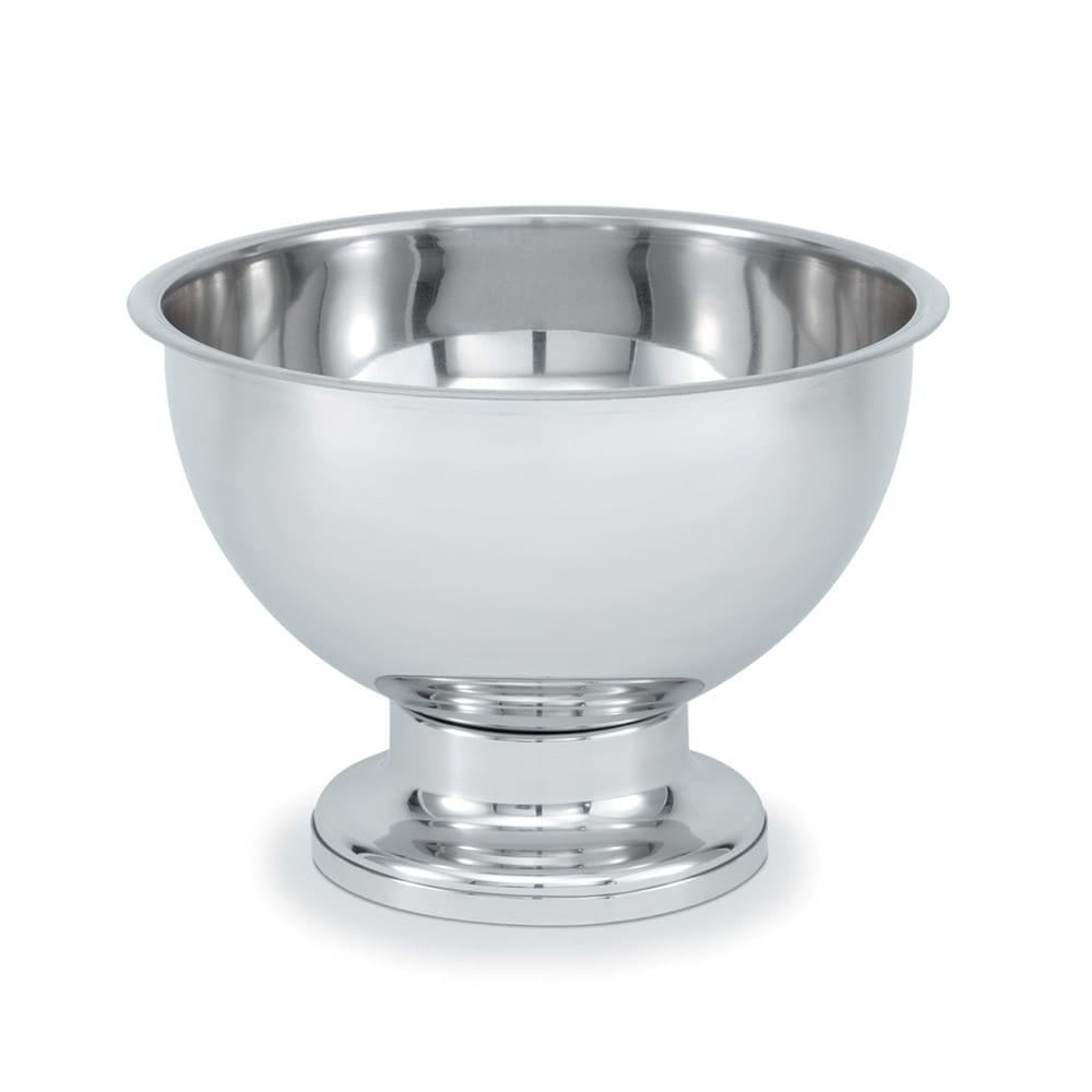 Vollrath 46072 5-Gal Punch Bowl - Mirror-Finish Stainless