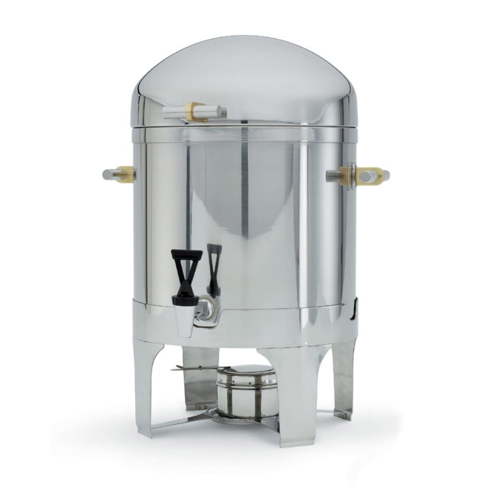 Vollrath 46094 5-Gal Coffee Urn - Fuel Holder Included, Brilliant Finish Stainless