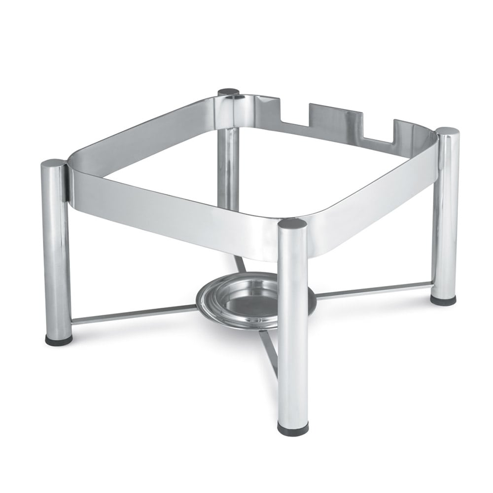 Vollrath 46113 Stand for Square Induction Chafers - Mirror-Finish Stainless