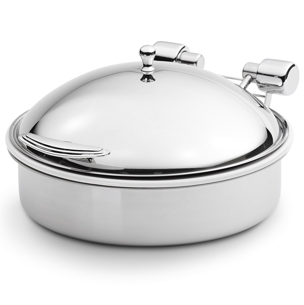 Vollrath 46123 Round Chafer w/ Hinged Lid & Induction Heat