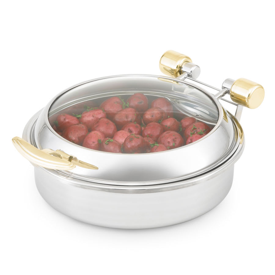 Vollrath 46124 Round Chafer w/ Hinged Lid & Induction Heat