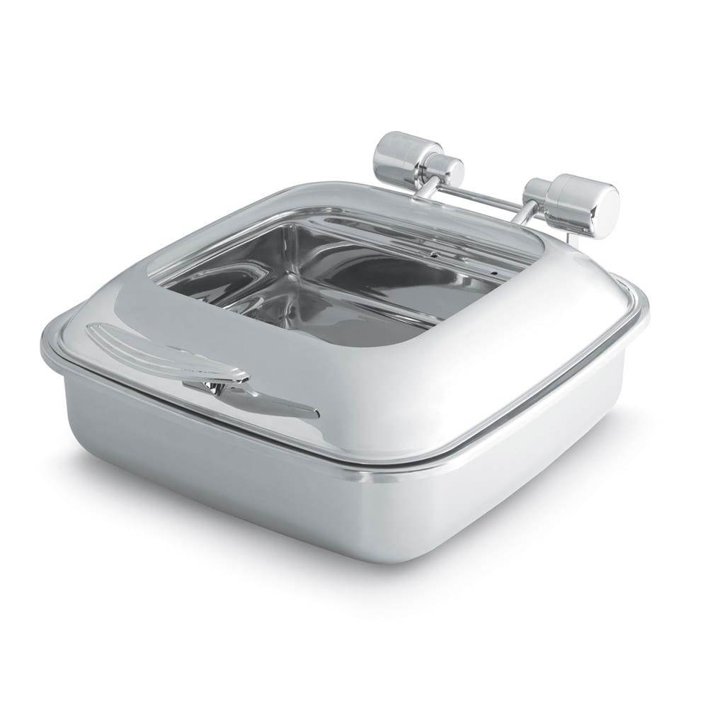 Vollrath 46134 Square Chafer w/ Hinged Lid & Induction Heat