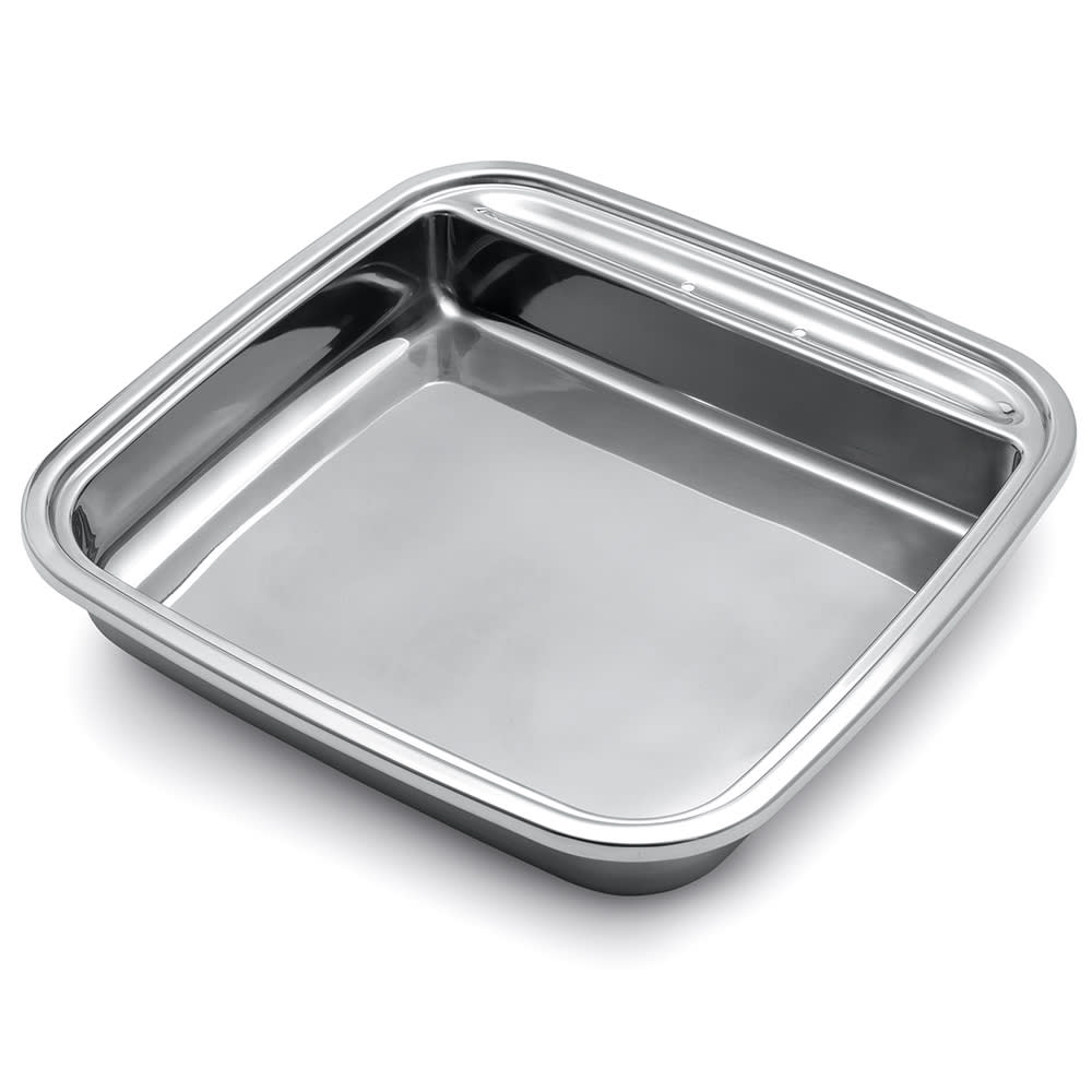 Vollrath 46137 6-qt Square Replacement Stainless Food Pan