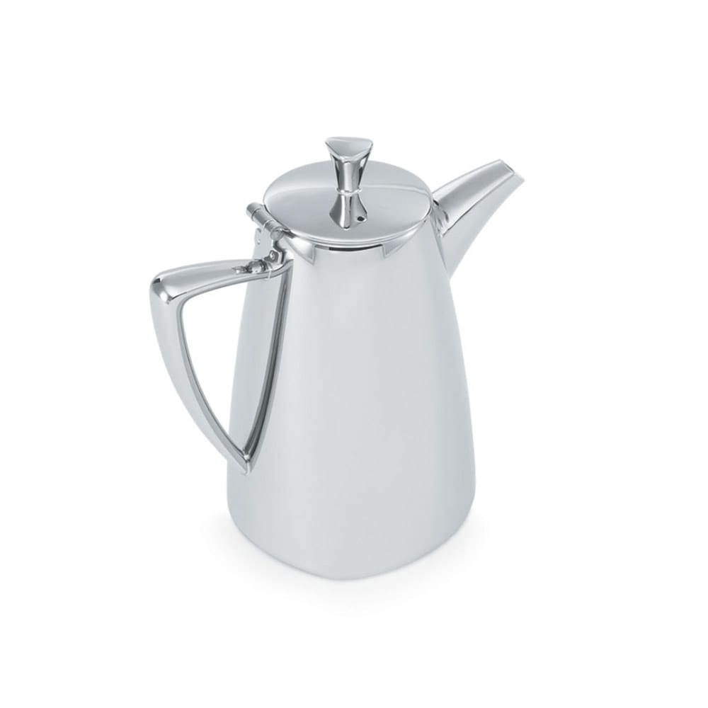 Vollrath 46203 2.3 qt Coffee Pot - Mirror-Finish Stainless
