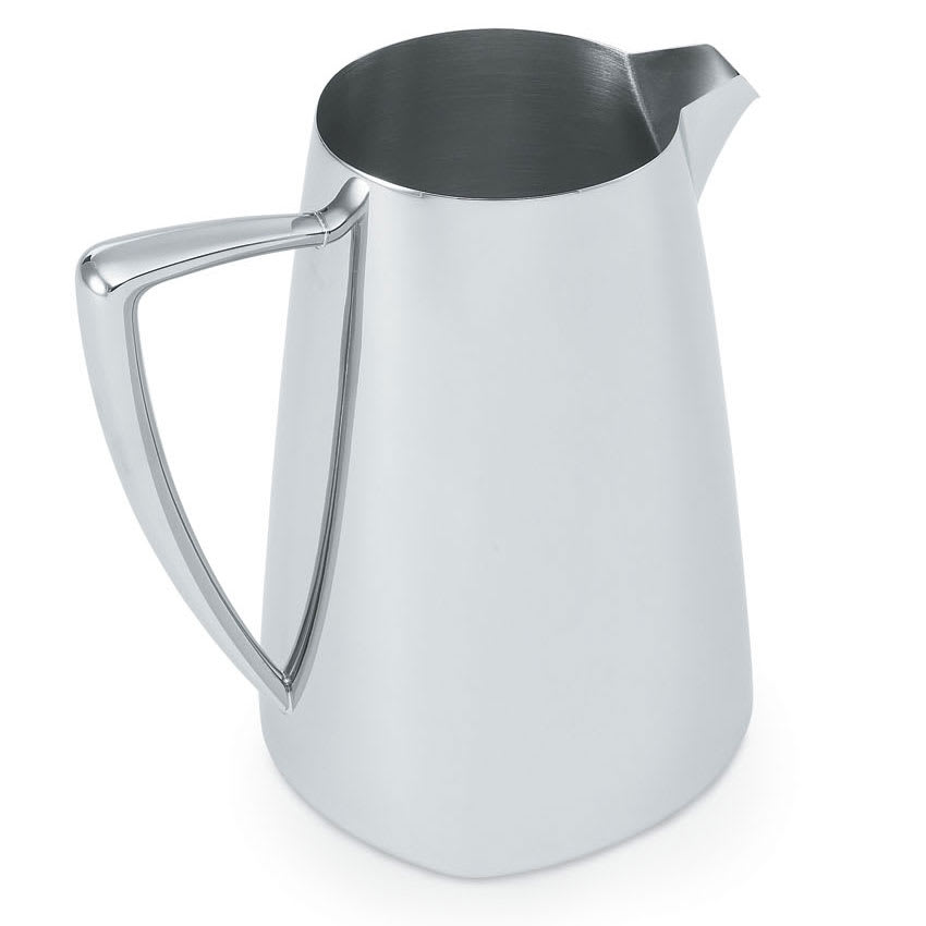 Vollrath 46204 2.3 qt Water Pitcher - Mirror-Finish Stainless