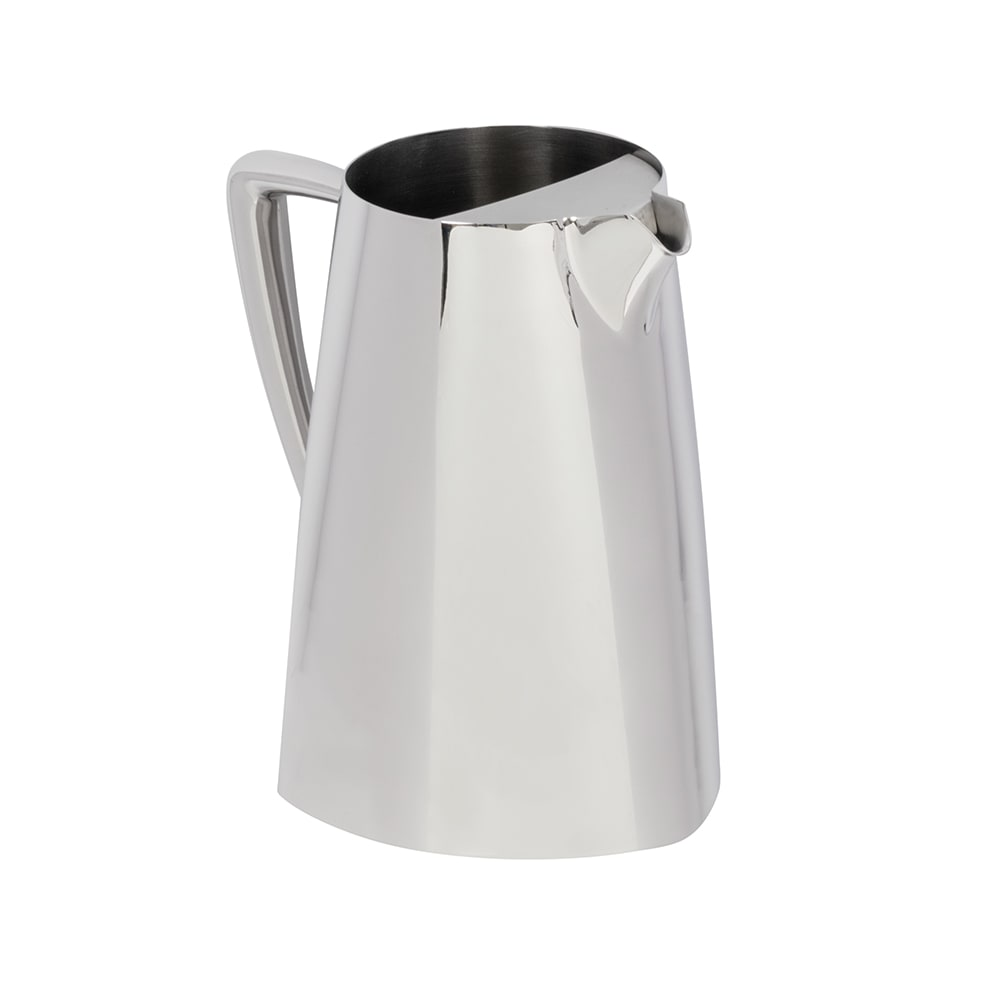 Vollrath 46206 2.3 qt Water Pitcher with Ice Guard - Mirror-Finish Stainless
