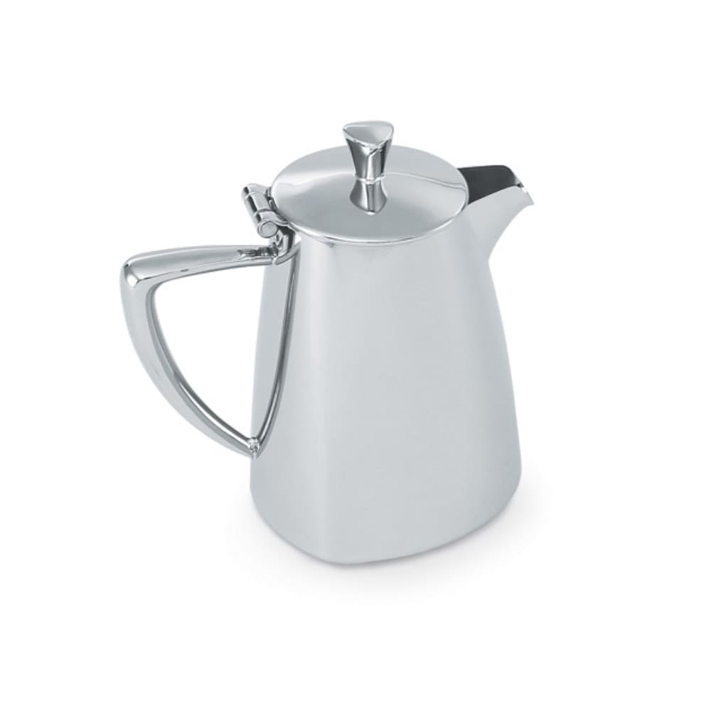 Vollrath 46209 9-oz Creamer with Cover - Mirror-Finish Stainless