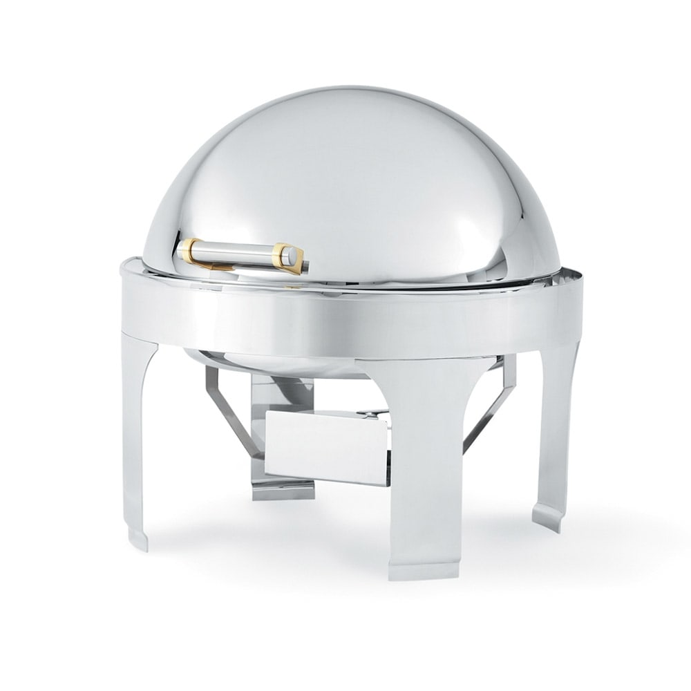 Vollrath 46265 Round Chafer w/ Roll-Top Lid & Chafing Fuel Heat