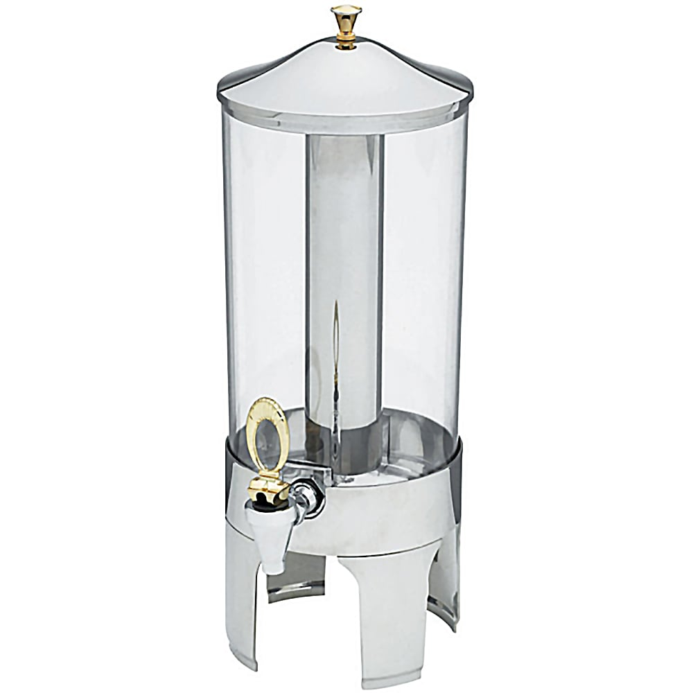 "Vollrath 46280 2 Gal Cold Beverage Dispenser - 21"" High, Stainless"