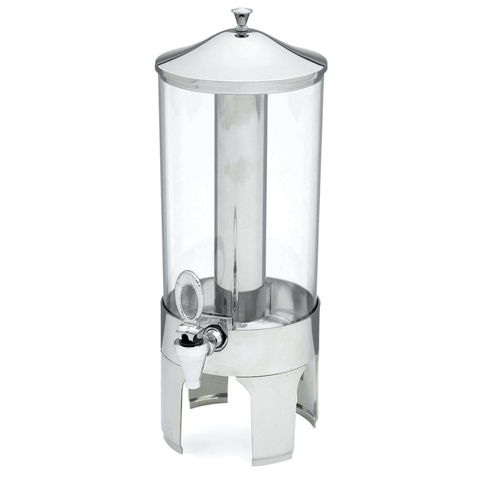 "Vollrath 46285 2 Gal Cold Beverage Dispenser - 21"" High, Chrome Accent, Stainless"