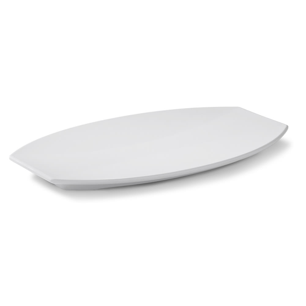 Vollrath 46292 Medium Melamine Platter - 14-1/8x9x1-1/4