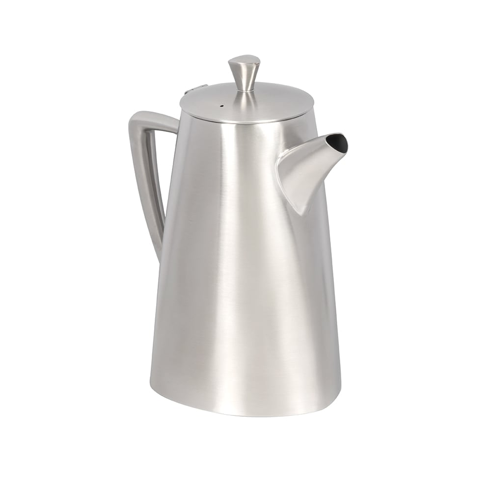 Vollrath 46303 2.3 qt Coffee Pot - Satin-Finish Stainless