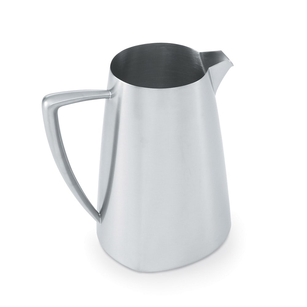 Vollrath 46304 2.3 qt Water Pitcher - Satin-Finish Stainless