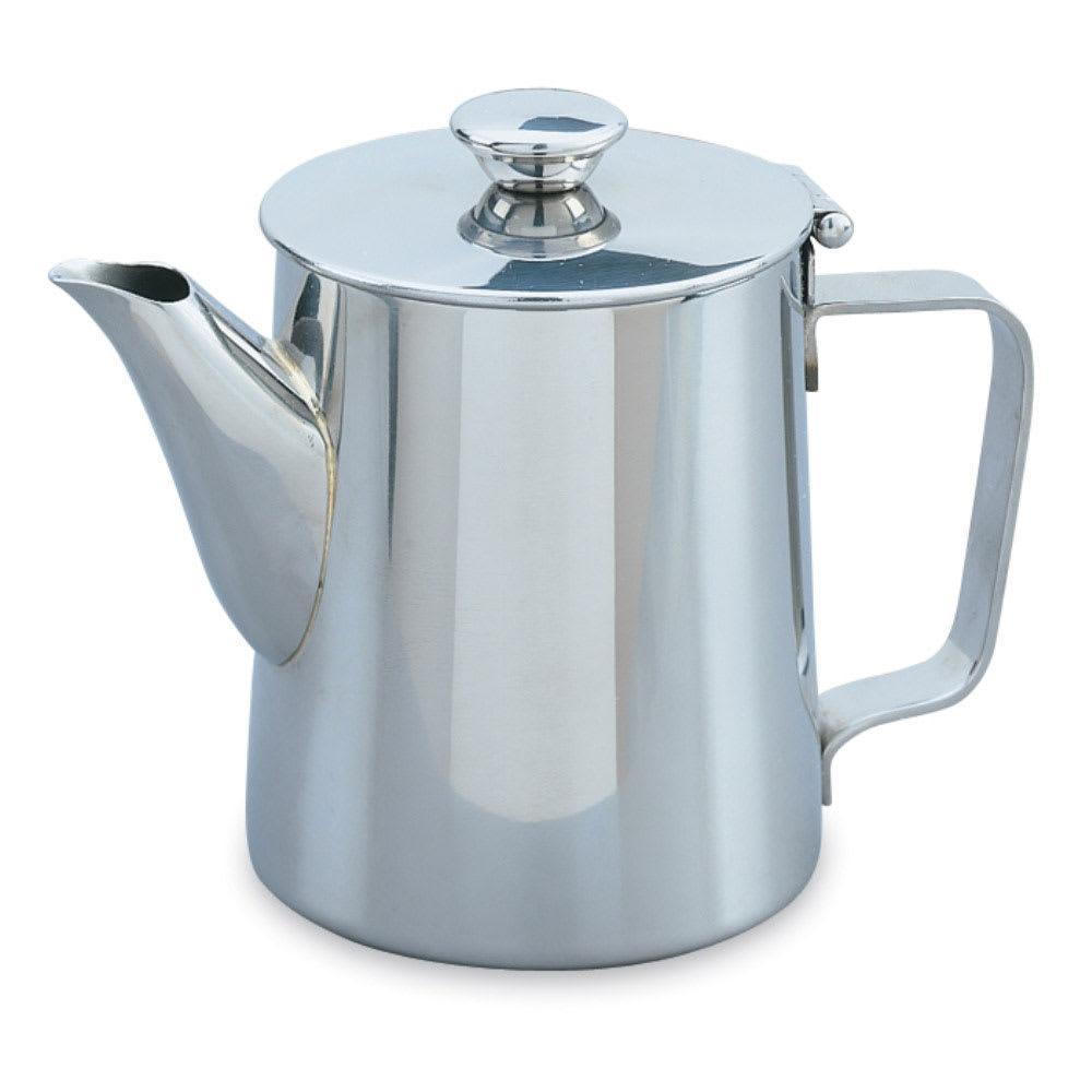 Vollrath 46314 10 oz Coffee/Tea Server - Mirror-Finish Stainless