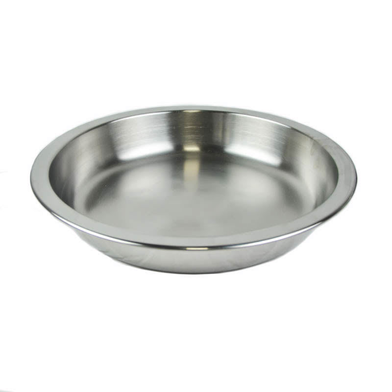 Vollrath 46325 4 qt Round Chafer Food Pan - Mirror-Finish Stainless