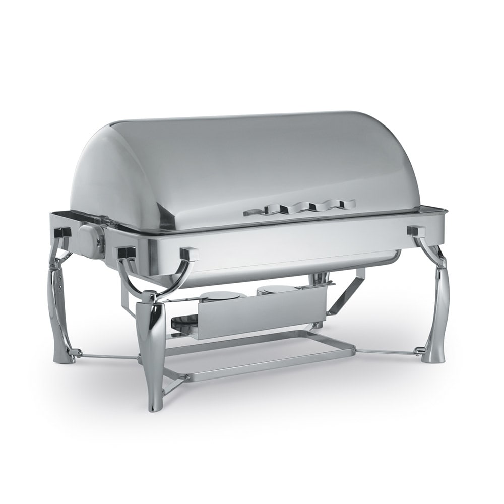 Vollrath 4634010 Full Size Chafer w/ Roll-top Lid & Dual Source Heat