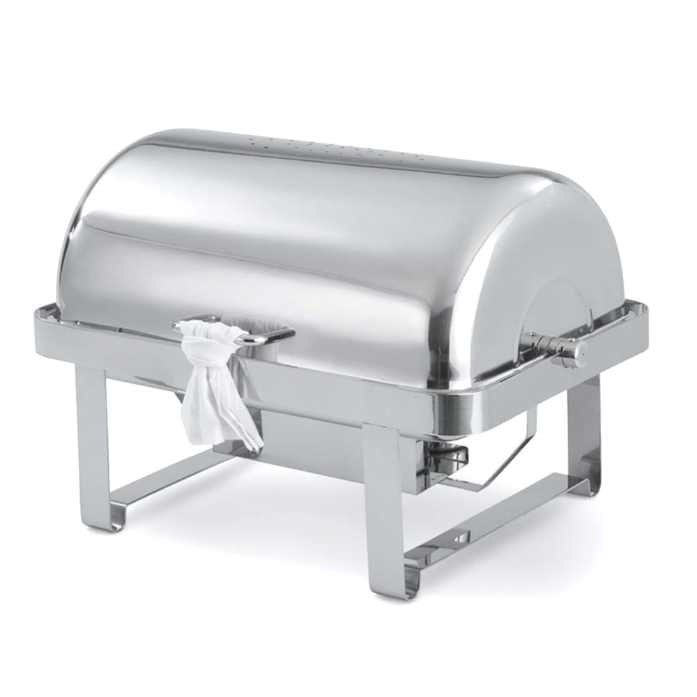 Vollrath 46350 Full Size Chafer w/ Roll-top Lid & Chafing Fuel Heat