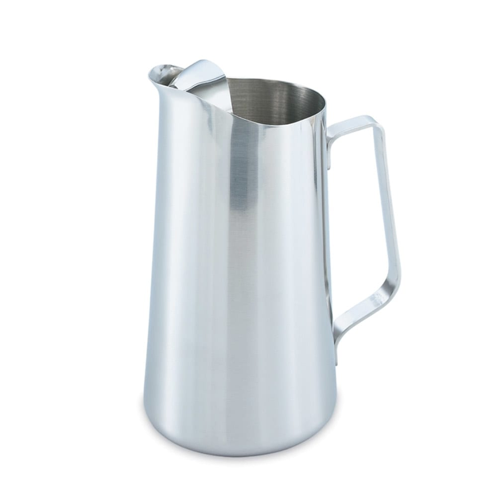 Vollrath 46403 2 qt Water Pitcher - Ice Guard, Stainless