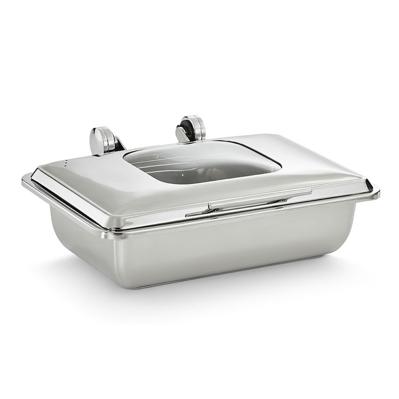 Vollrath 4644010 8.3 qt Full-Size Induction Chafer w/ Glass Lid, Stainless
