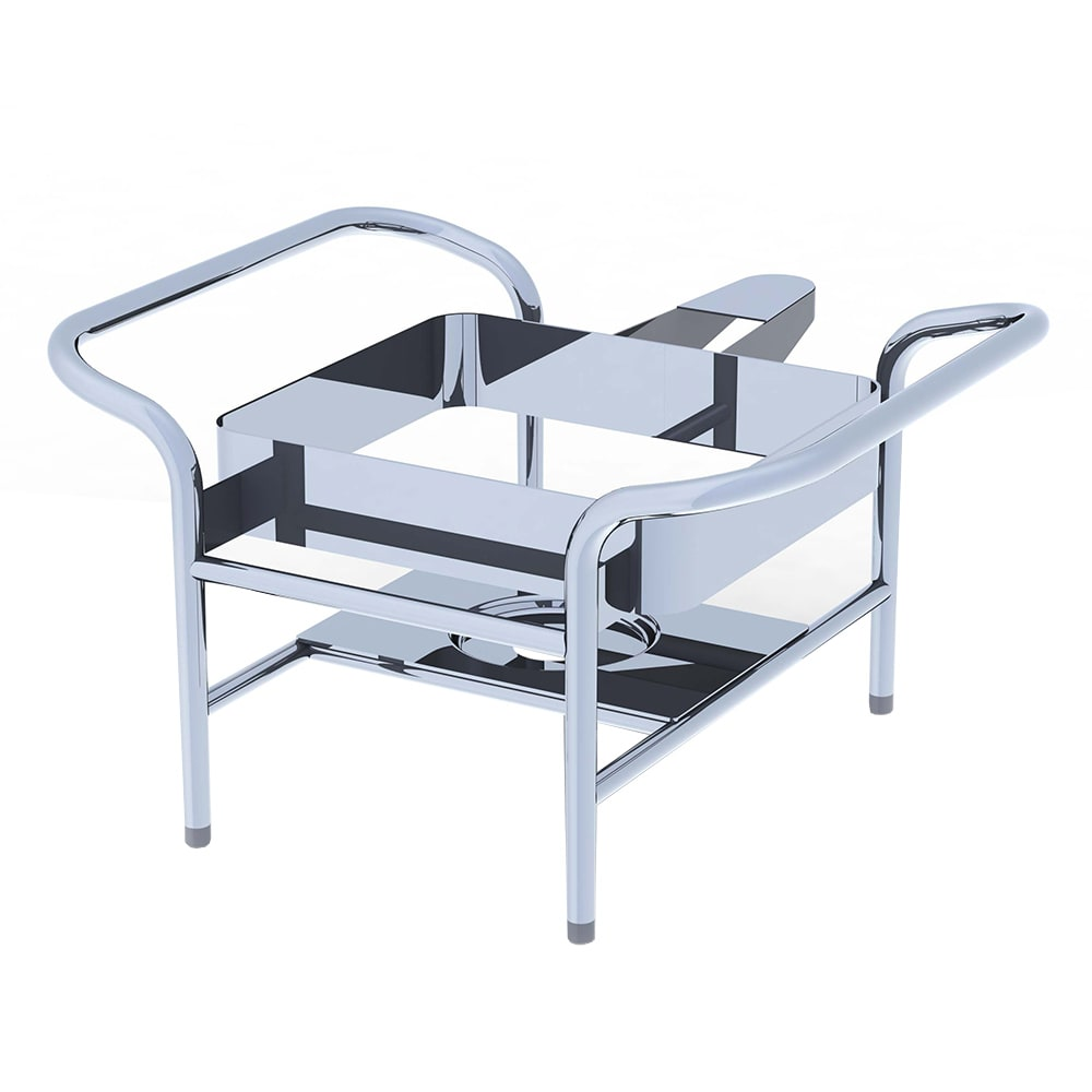Vollrath 4644055 Chafer Stand for 2/3 Size Mirage® Induction Chafer, Stainless Steel