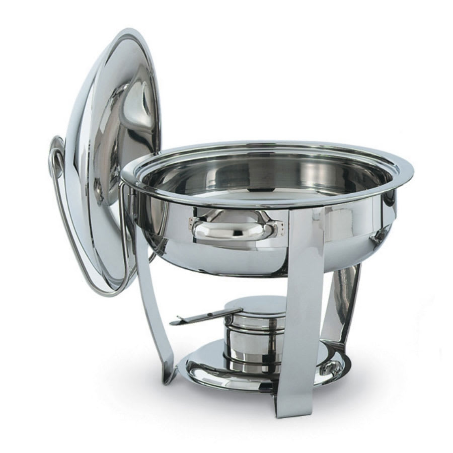 Vollrath 46501 Oval Chafer w/ Lift-off Lid & Chafing Fuel Heat