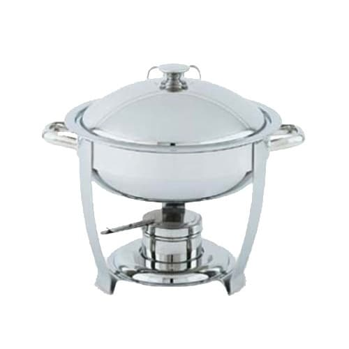 Vollrath 46506 6 qt Round Heavy-Duty Chafer Food Pan