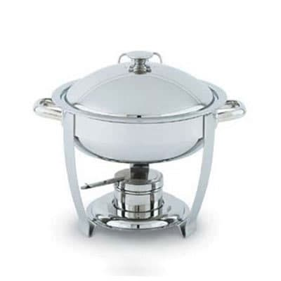 Vollrath 46507 4-qt Round Heavy-Duty Chafer Food Pan