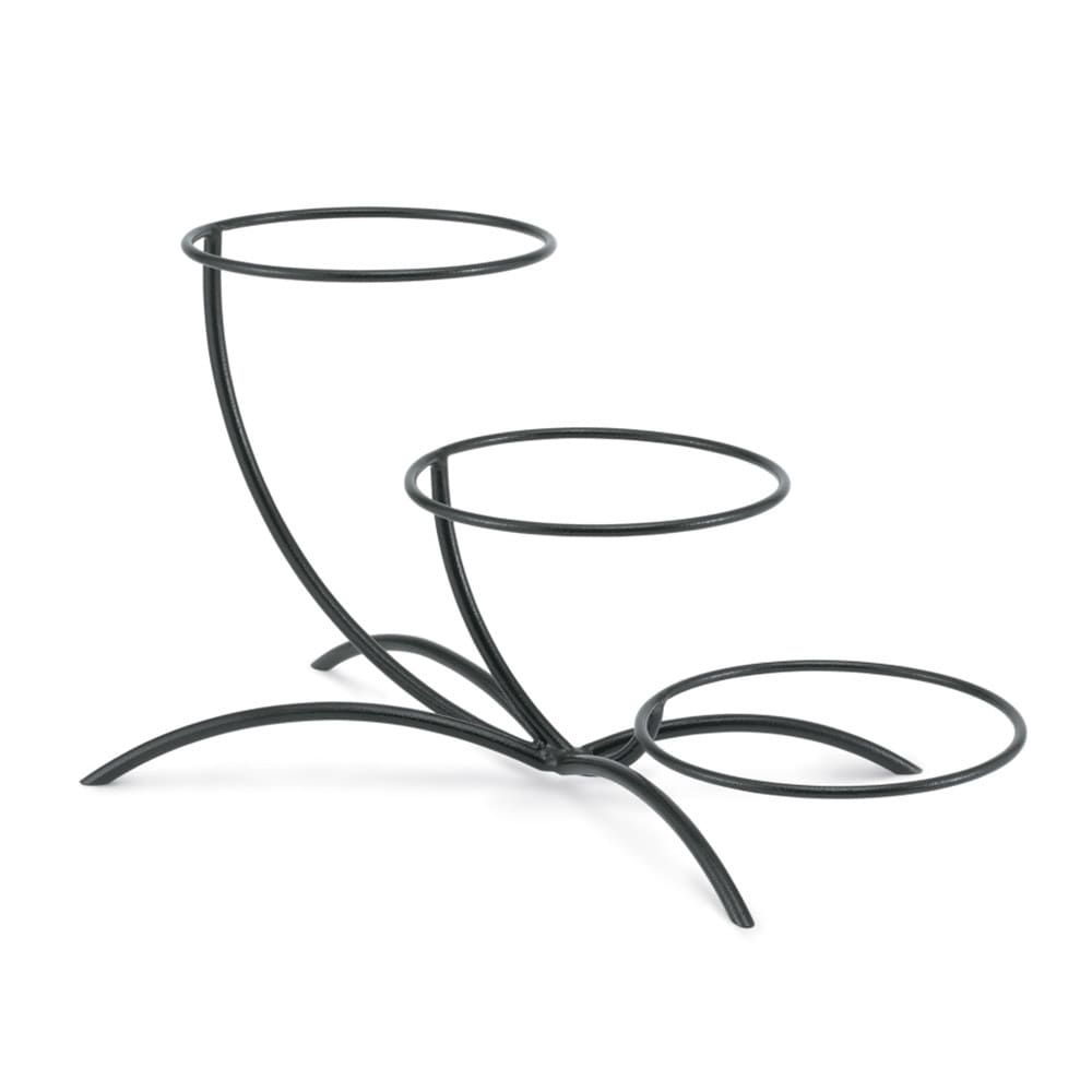 Vollrath 46541 Elevation Buffet Table Stand - Vertical Elevations, Black