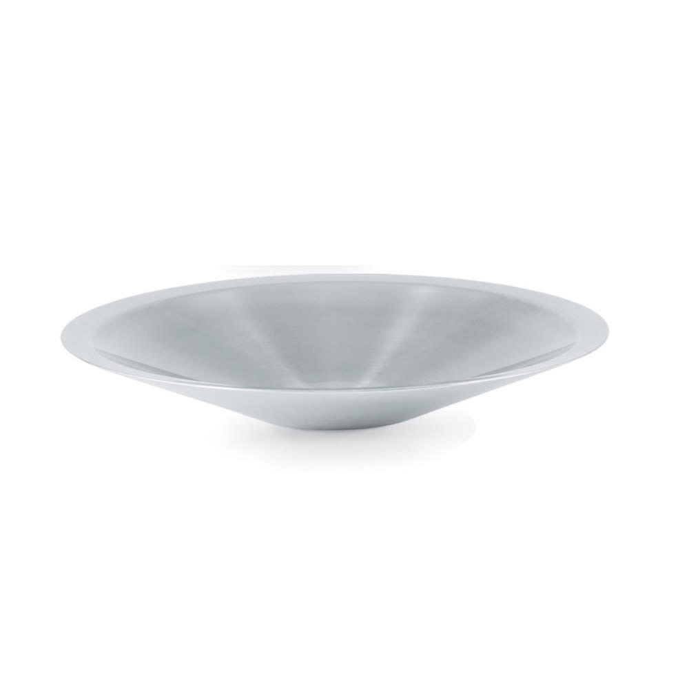 Vollrath 46581 1.7 qt Conical Insulated Fruit Platter - 18 ga Stainless
