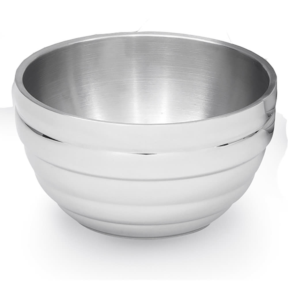 Vollrath 46590 1.7-qt Round Beehive Insulated Bowl - 18-ga Stainless