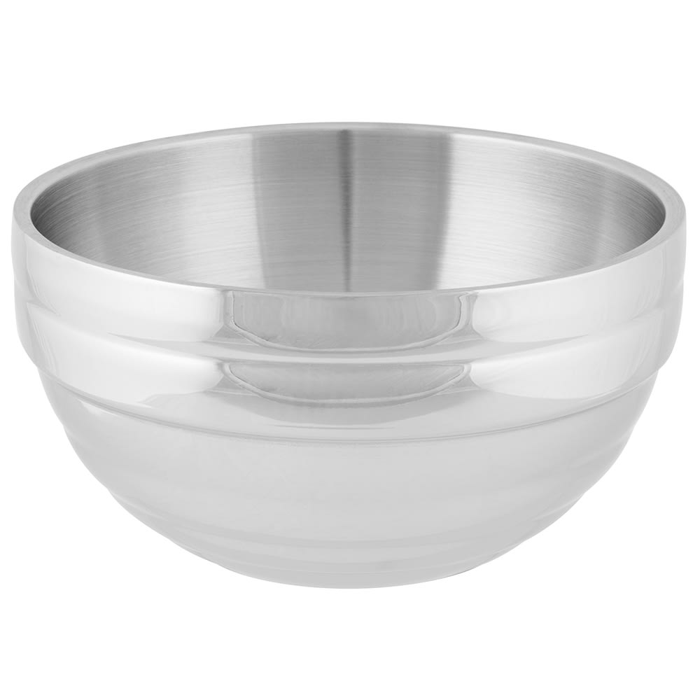 Vollrath 46591 3.4 qt Round Beehive Insulated Bowl - 18 ga Stainless
