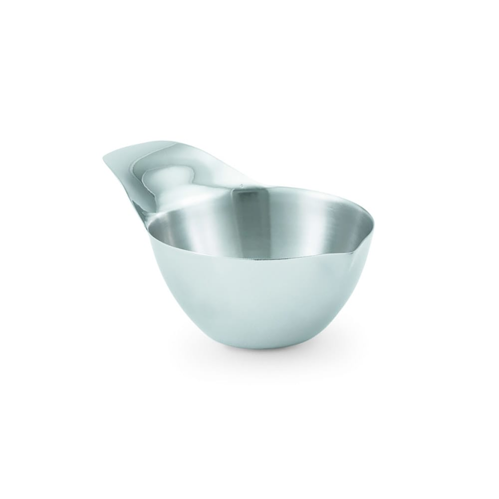 Vollrath 46654 2 oz Ramekin with Handle - Mirror-Finish Stainless