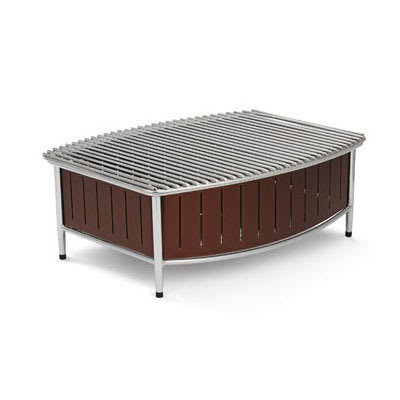 """Vollrath 4667570 Buffet Station w/ Wire Grill - 21"""" x 16"""", Brown"""