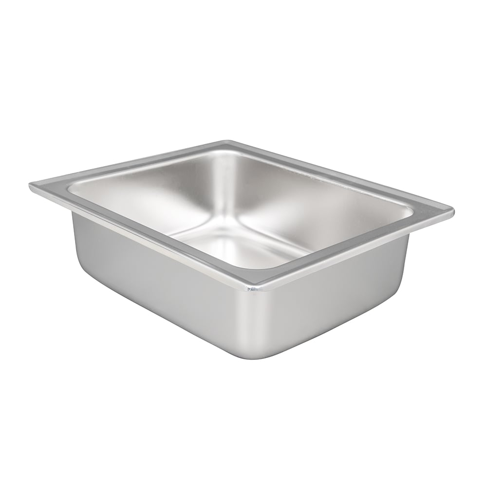 Vollrath 46858 Half-Size Chafer Dripless Water Pan - Stainless