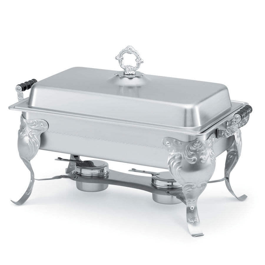 Vollrath 46880 Full Size Chafer w/ Lift-off Lid & Chafing Fuel Heat