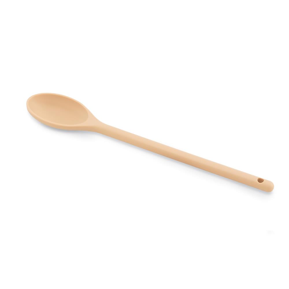 """Vollrath 4689860 12"""" Prep Spoon - Nylon Tan"""