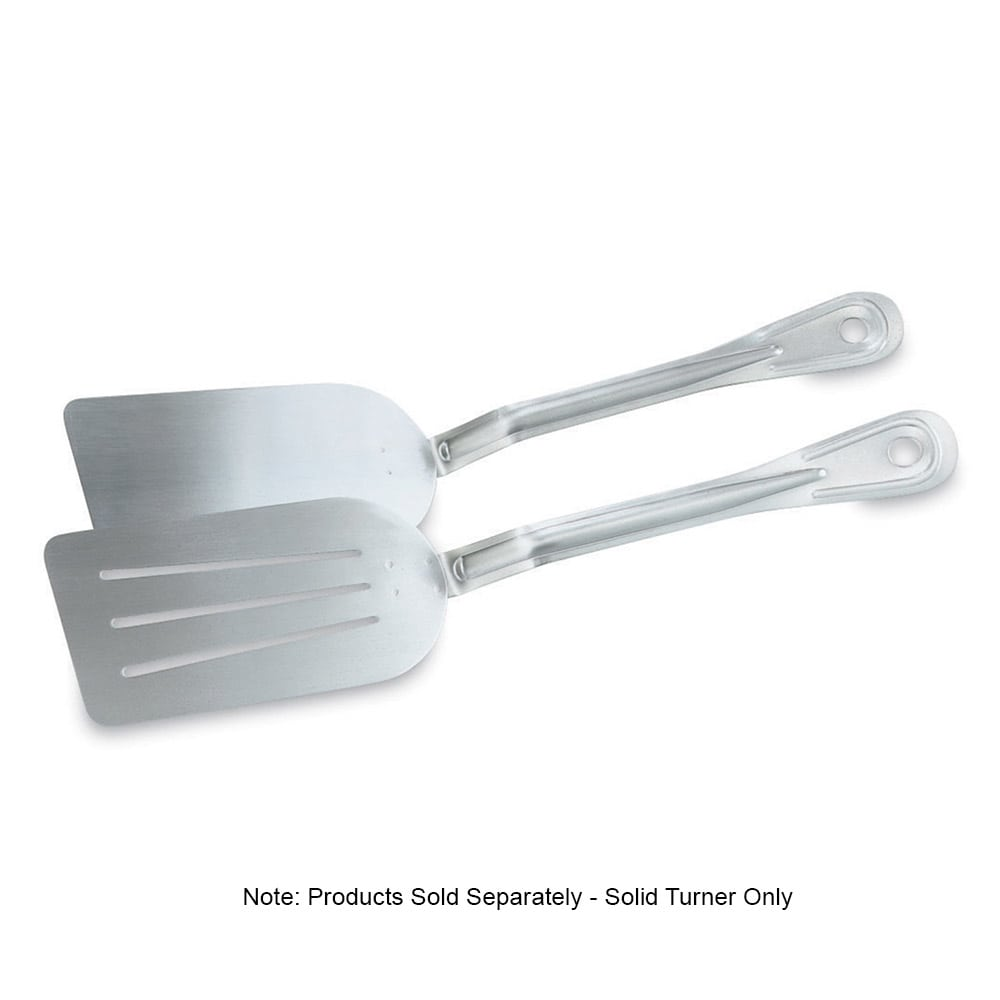 "Vollrath 46933 14 1/4"" Solid Pancake Turner - Stainless"