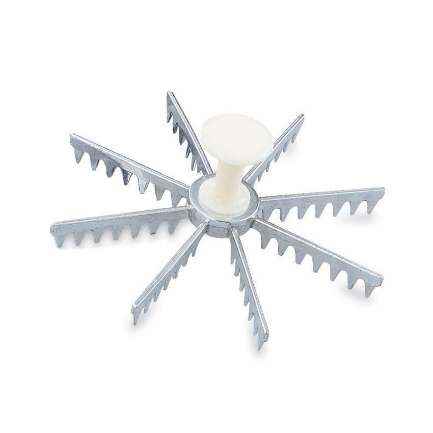 Vollrath 47052 8-Cut Pie Marker - Plastic Handle, Cast Aluminum