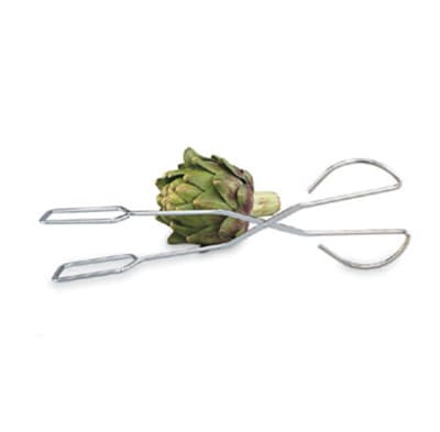 """Vollrath 47117 15"""" Chrome Plated Serving Tongs"""