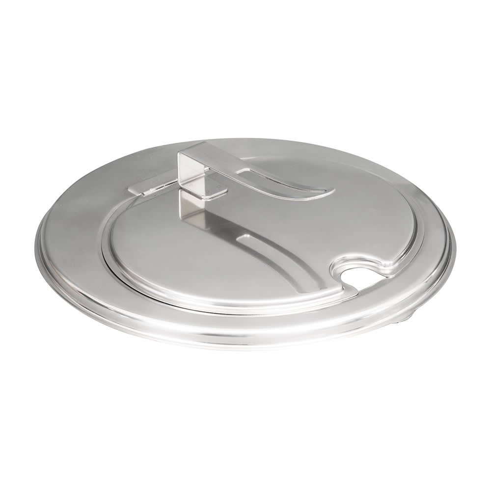 Vollrath 47494 Hinged Inset Cover for 11.25 qt Inset, Stainless