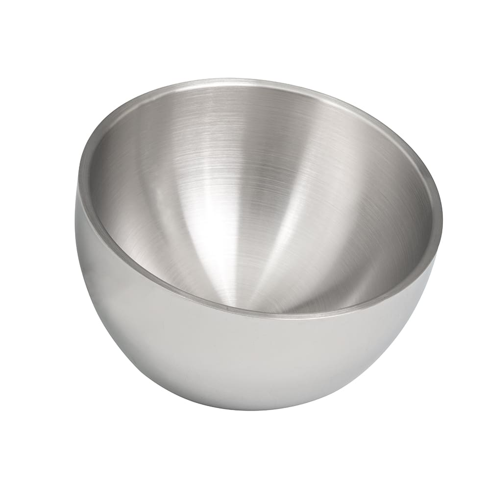 Vollrath 47650 1 qt Round Angled Insulated Bowl - Mirror-Finish Stainless