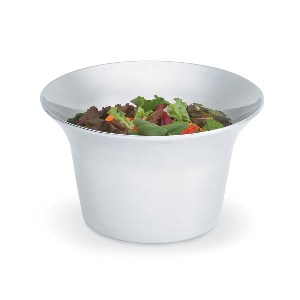 Vollrath 47664 3.4-qt Trumpet Insulated Bowl - Mirror-Finish Stainless