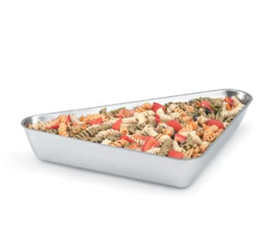 Vollrath 47668 2.8-qt Triangle Insulated Bowl - Mirror-Finish Stainless