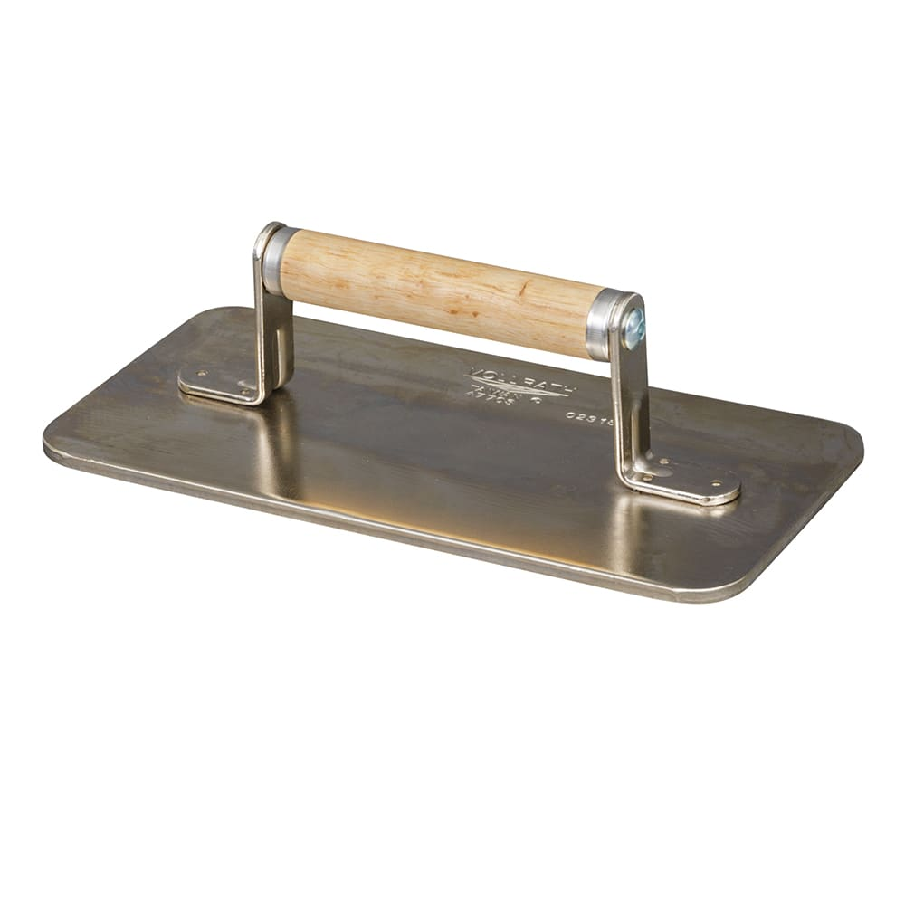 Vollrath 47708 Waffle Pattern Steak Weight - Chrome Plated Steel