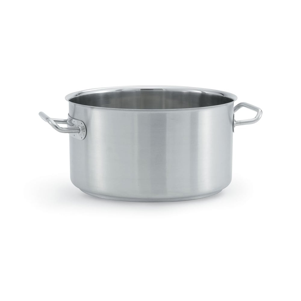 "Vollrath 47735 33 qt Stainless Sauce Pot - 15.625"" x 9.75"""