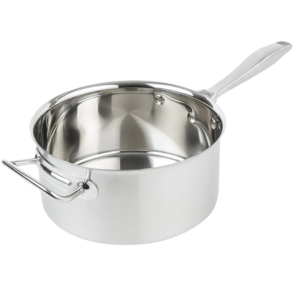"Vollrath 47742 4.25 qt Stainless Sauce Pot - 8.563"" x 4.125"""